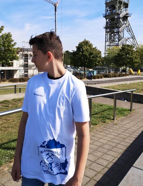Casual T-Shirt für Sie und Ihn grosse Lore in weiß