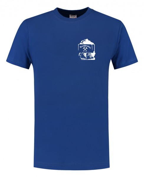 Casual T-Shirt für Sie und Ihn kleine Lore in royalblau 3XL-7XL