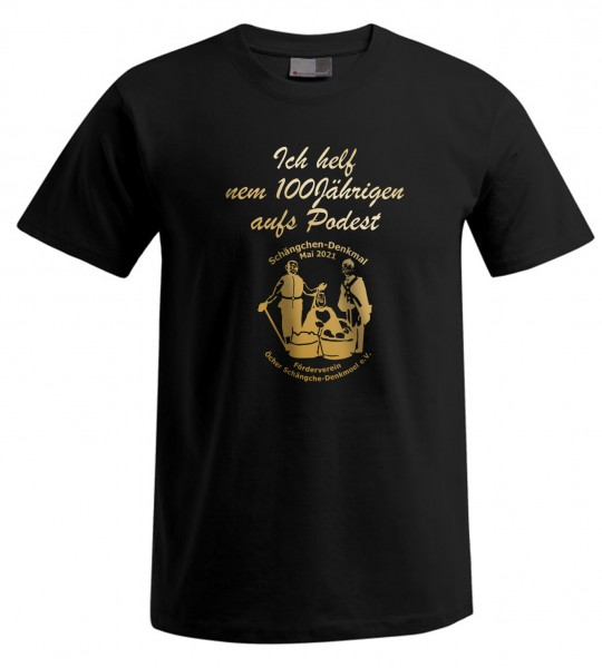 Schängche Unisex T-Shirt, Farbe schwarz