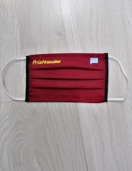 """Bordeaux Behelfsmaske """"Printenmann"""""""