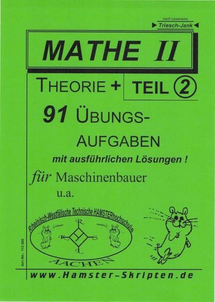 SERIE B - Maschinenbauer Mathe II, Teil 2