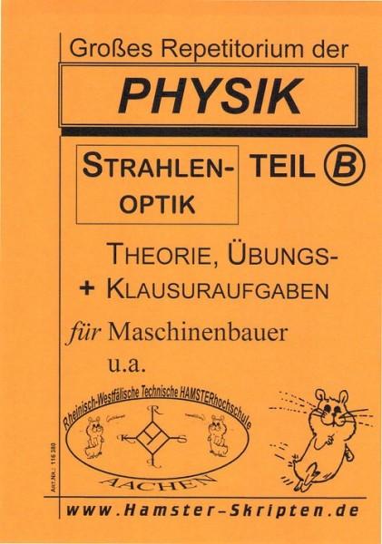 Physik für MaschinenbauerPhysik Repetitorium, Teil B