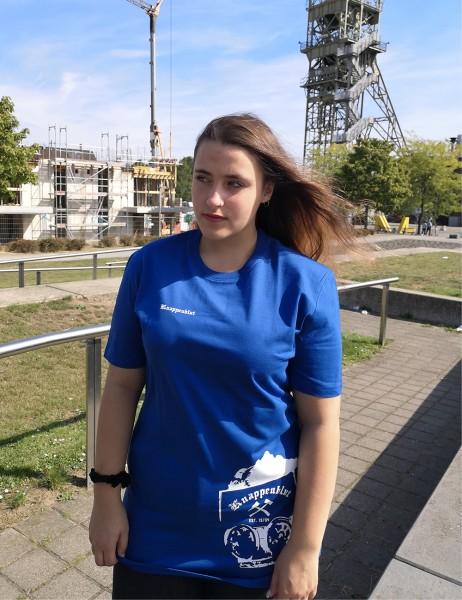 Casual T-Shirt für Sie und Ihn grosse Lore in royalblau