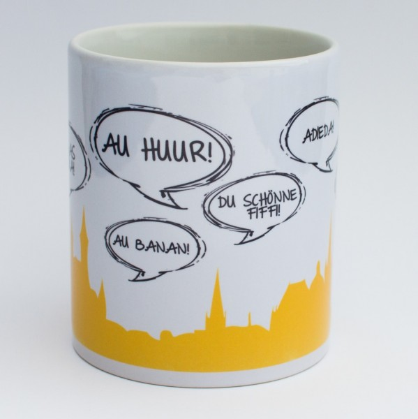 """""""ÖCHER SPRÜCHE"""" - Tasse"""