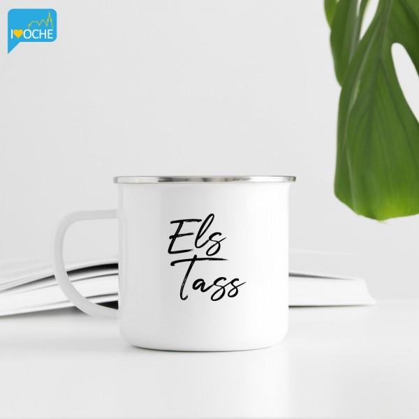"""""""ELS Tass"""" - kleine Emailletasse 300ml"""