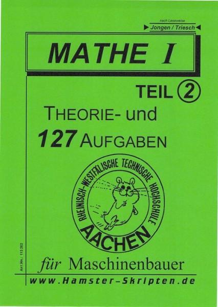 SERIE B - Maschinenbauer Mathe I, Teil 2