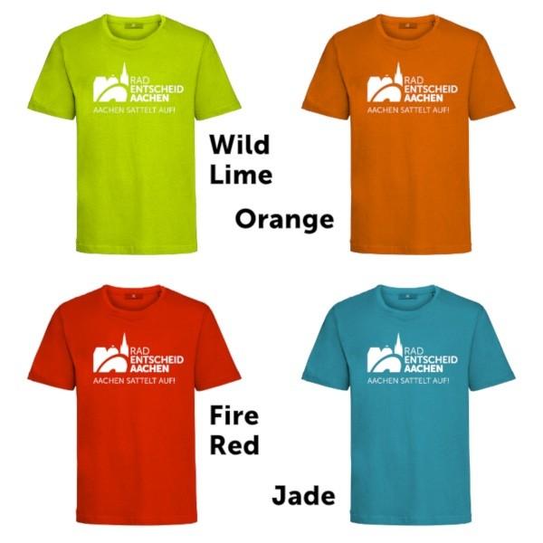 T-Shirts-Farben