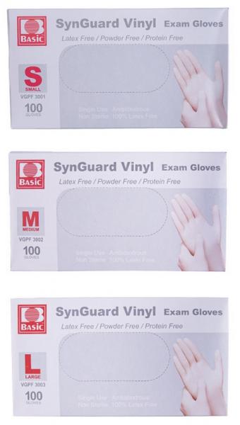 Einmalhandschuhe Basic Vinyl 100er Box