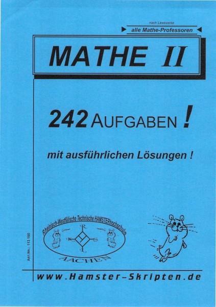 SERIE D - Alle Mathe Profs Mathe II