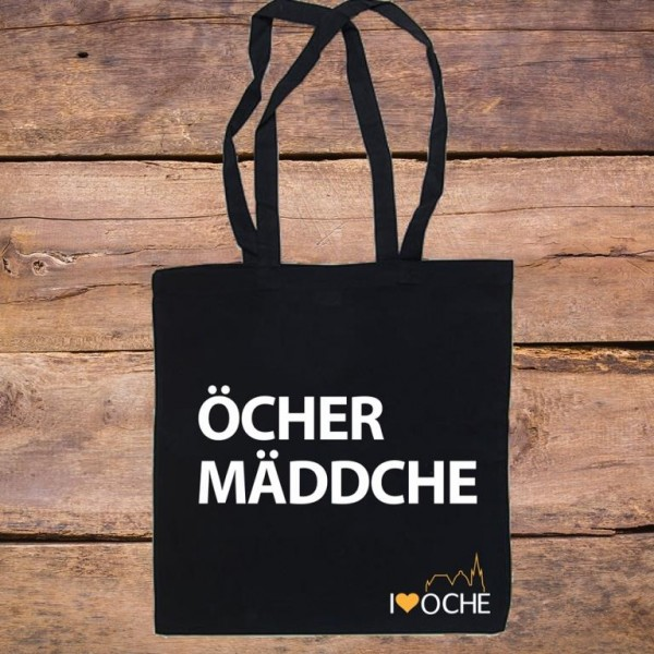 """""""ÖCHER MÄDDCHE"""" - Baumwolltasche"""